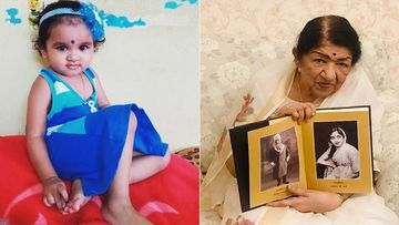 Toddler Croons Lata Mangeshkar's Lag Ja Gale; Internet Hails Her Talent And Uncanny Resemblance To The Singer