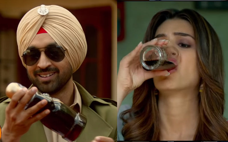 Arjun Patiala Song, Sip Sip: Diljit Dosanjh And Kriti Sanon Break Into A Dance After Gulping Down One Too Many