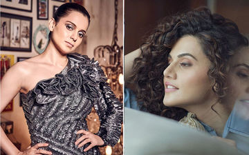 Taapsee Pannu Gets Compared To Kangana Ranaut On Twitter, Here's How She Responds