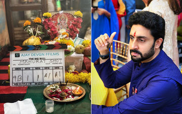 A Year After Manmarziyaan Abhishek Bachchan Is Back On A Film Set; Gears Up For The Big Bull