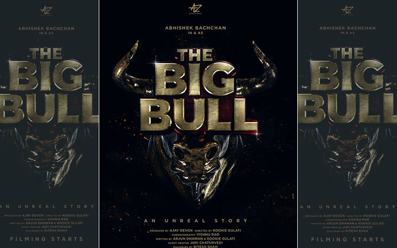 Abhishek Bachchan Starts Filming The Big Bull, Shares The First Look Poster And It Is Fierce