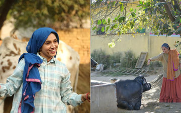 Taapsee Pannu And Bhumi Pednekar Get Goofy In These BTS Moments From Saand Ki Aankh