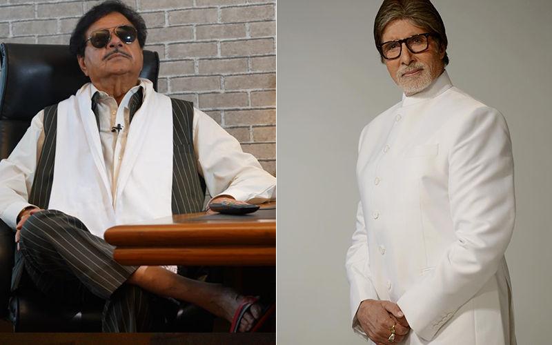 Amitabh Bachchan Chosen For Dadasaheb Phalke Award, Shatrughan Sinha Wishes Him Good Luck And Success