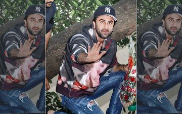 Ranbir Kapoor's Bodyguard Makes A Seriously Cool Move To  Prevent The Actor From Falling; Internet Finds A New Hero - Watch Video