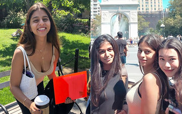 Suhana Khan's Sun-Kissed Morning Pic From Manhattan Goes Viral