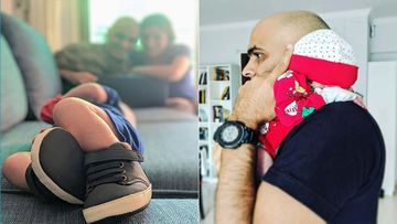 Papa Raghu Ram Is Doing His Daddy Duties Right; Shares Son's PIC And Jokes About Burping