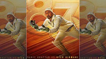 '83: Ranveer Singh Drops First Look Poster Of Sahil Khattar As Syed Kirmani, Calls Him GOLDEN GLOVE