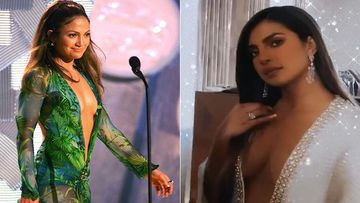 Priyanka Chopra's Belly Button Grazing Grammy 2020 Dress Inspired By JLO's Sexy Green Number; Here's The Story Behind It