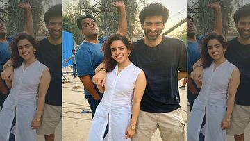 Sanya Malhotra And Aditya Roy Kapoor's Sizzling Chemistry In Ludo Will Make You Stop And Stare