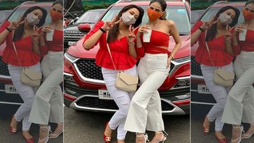 Shweta Tiwari And Palak Tiwari's Sassy Pictures Twinning In Red And White Are GOALS