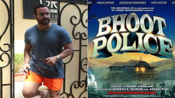 Saif Ali Khan Resumes Shoots For Bhoot Police, Feels, 'Almost Like Working At A Hospital'