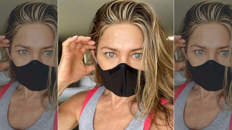 Jennifer Aniston Looks Smashing In White Sports Bra And Spandex As She Crushes An Intense Workout