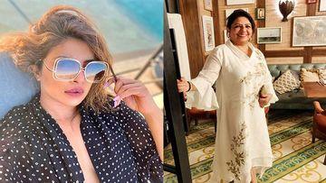 Priyanka Chopra Shares An Adorbs Picture Of Her Mama Madhu Chopra With Her Grandchild - Pic Inside