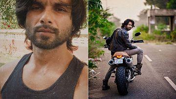 Shahid Kapoor Looks Dapper As He Goes On A Bike Ride; Kickstarts Preparing For Last Leg Of Jersey