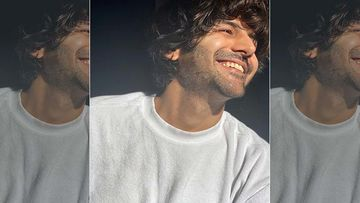 Kartik Aaryan Shares A Dhamakedaar Video From The Sets Of His Film Dhamaka But It's The Hilarious Caption That Has Applauding Him