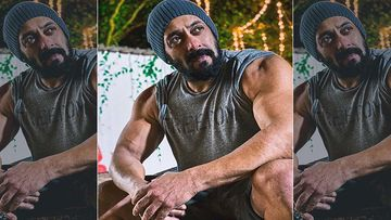 Salman Khan Drops Picture Of Him Showing Off His Well Toned Muscles, Post Garners 10 Lac Plus Likes In 60 Minutes