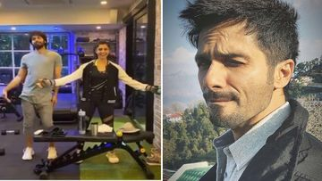 Shahid Kapoor Breaks Into Dance Amidst Workout; Who Says Gym Has To Be All Boring, After All?