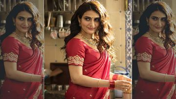 Suraj Pe Mangal Bhari First Look: Fatima Sana Shaikh's Marathi Mulgi Look Is RED HOT