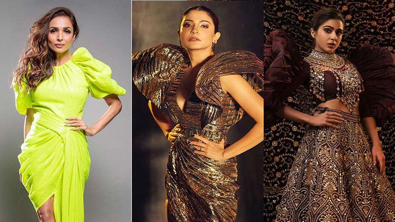 Malaika Arora, Anushka Sharma Or Sara Ali Khan- Who Wore The Ruffled-Sleeve-On-Steroids Better?