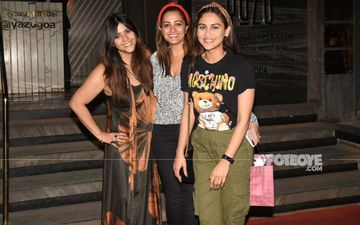 Ekta Kapoor's  Night Out With BFFs Anita Hassanandani And Krystle D'Souza Proves 'Three Is Not Crowd'