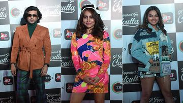 It Happened In Calcutta Special Screening: Karan Kundrra, Anusha Dandekar, Anita Hassanandani Rev Up The Retro