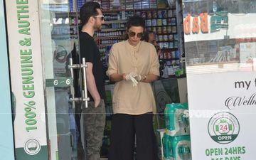 Coronavirus Scare: Shama Sikander And Boyfriend James Milliron Clicked At Pharmacy, Couple Goes Shopping For Gloves - PICS
