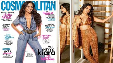 Kiara Advani In A Navel Plunging Denim Jumper Or Bikini Top Power Suit?