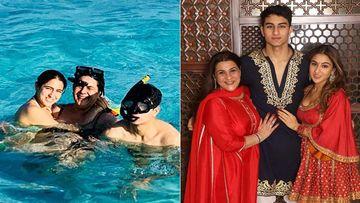 Sara Ali Khan Lets Out Mum Amrita Singh And Brother Ibrahim's Best Kept Secrets On TikTok Video