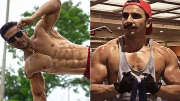 Tiger Shroff Flaunts 10 Pack Abs; Ranveer Singh Is Zapped As Fans Ask Is It 'Humanly Possible'?