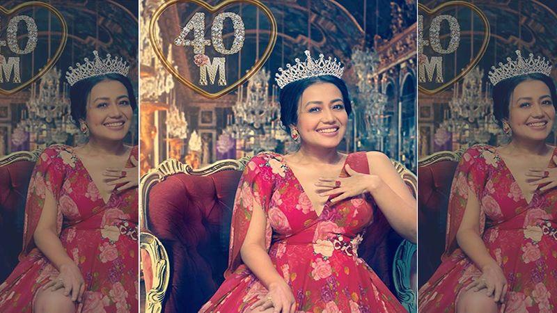 Queen Neha Kakkar Clocks 40 Million Followers On Instagram; Thanks Her Social Media Family