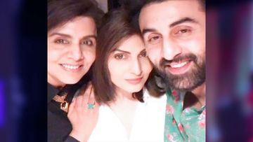 Happy Birthday Neetu Kapoor: Ranbir Kapoor Joins Mommy's Birthday Celebrations With Sister Riddhima Sahni