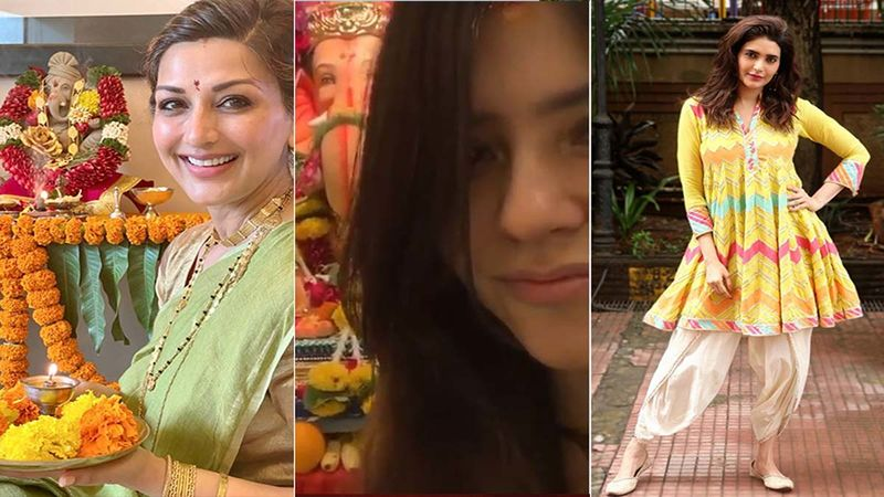 Ganesh Chaturthi 2020: Sonali Bendre, Ekta Kapoor, Karishma Tanna, Bhumi Pednekar Soak In The Festive Fervor