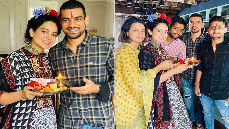 Raksha Bandhan 2020: Kangana Ranaut Celebrates With Brother And Fam Enjoying A Lavish Roof-Top Barbeque At Her Manali Residence- Watch