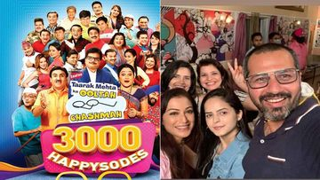 Taarak Mehta Ka Ooltah Chashmah Team Comes Together To Celebrate As The Show Clocks 3000 Episodes, Terms This Milestone As 'Happysodes'