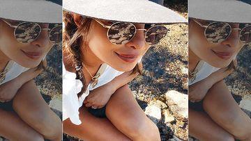 Priyanka Chopra Soaks Up The Sun In A Bikini Top Of Our Dreams As She Enjoys Last Few Days Of Summer