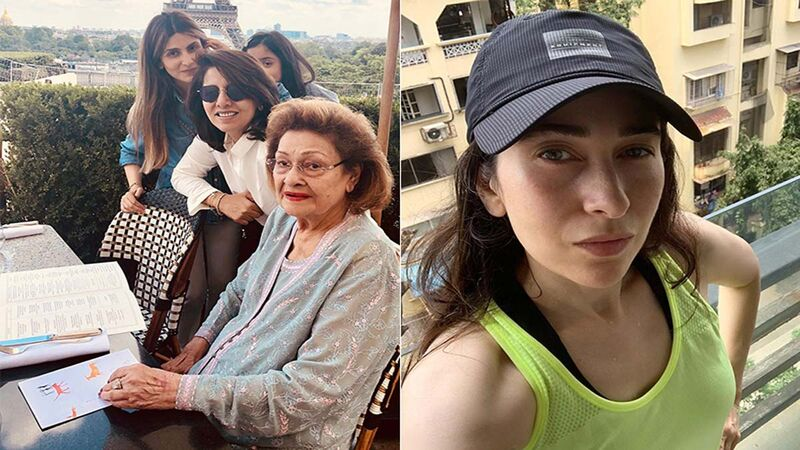 Neetu Kapoor, Riddhima Kapoor Sahni And Karisma Kapoor Remember Krishna Raj Kapoor On Her 3rd Death Anniversary
