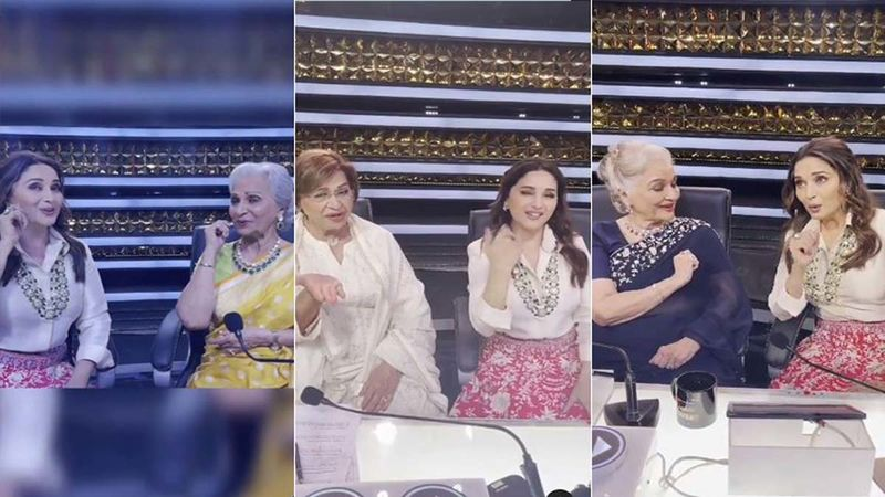 Dance Deewane 3: Judge Madhuri Dixit Has A Fan Girl Moment With Waheeda Rahman, Helen And Asha Parekh As She Grooves To Their Popular Numbers - WATCH