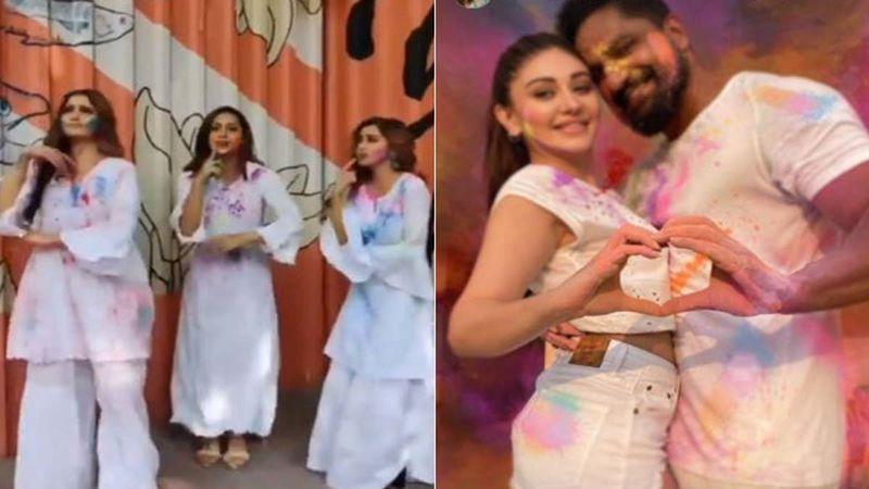 Happy Holi 2021: Tina Datta, Abigail Pandey And Arti Singh Groove To Balam Pichkari While Shefali Jariwala-Parag Tyagi Have An Intimate Holi