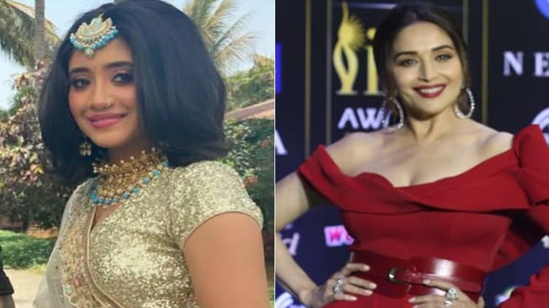 Yeh Rishta Kya Kehlata Hai: Shivangi Joshi Dances To Madhuri Dixit's Song From Hum Aapke Hain Koun; Looks Blissful In BTS Video-WATCH