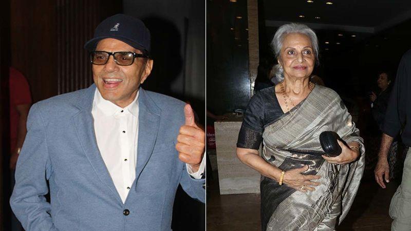 Dance Deewane 3: Dharmendra Confesses To Having Had A Huge Crush On Waheeda Rehman
