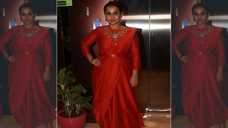 Vidya Balan Opens Up On Gender Bias Issue In The Society; Recalls A Dinner Table Conversation That Left Her Boiling With Anger