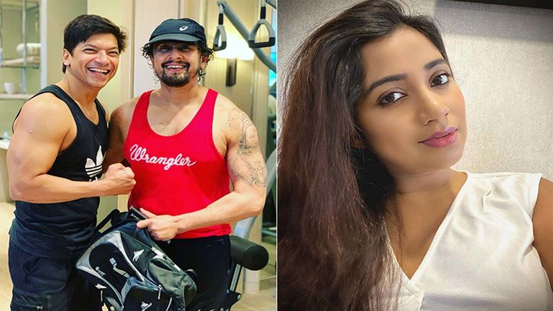 Shaan And Sonu Nigam Bond Over Fitness; New Mommy Shreya Ghoshal Gives A Glimpse Of Her Baby- PICS OF THE DAY