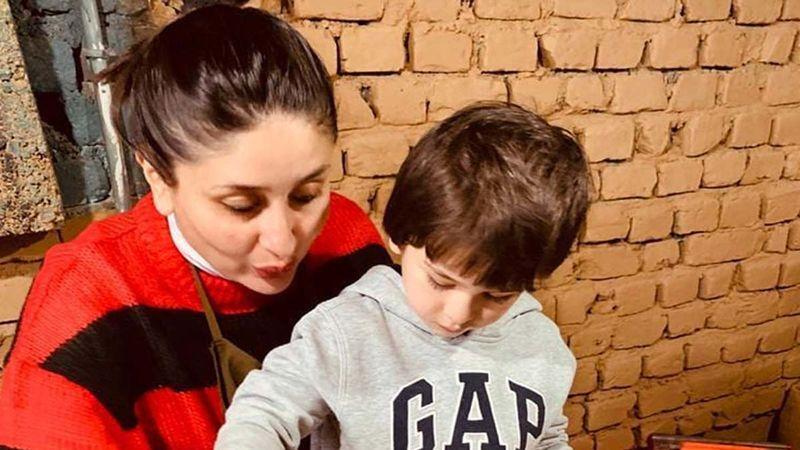 Kareena Kapoor Khan And Taimur Ali Khan's Selfie Give Some Major Parenting Goals