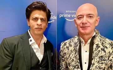Shah Rukh Khan Makes Amazon's Jeff Bezos Say His Famous Don Dialogue; SRK Adds An International Touch- Video