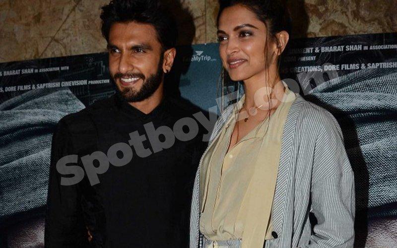 Deepika and Ranveer's late night date