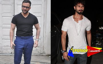 Saif-Shahid take their cold vibes to the next level