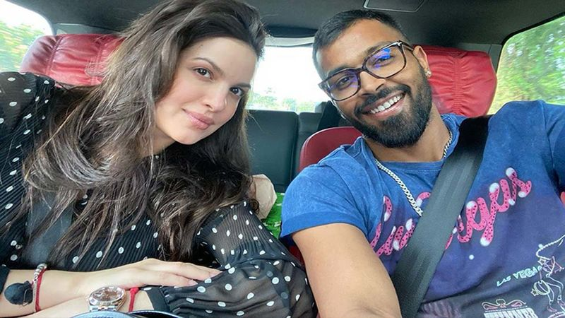 Ahead Of IPL 2020 Hardik Pandya Flashing His Abs Compels Wifey Natasa Stankovic To Drop An Equally Hot Comment