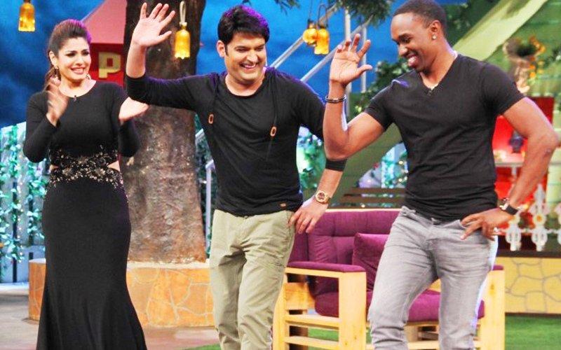 Bravo, Raveena have a ball in The Kapil Sharma Show
