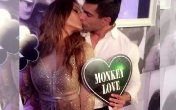 Video Alert: Karan Singh Grover kisses his blushing bride Bipasha