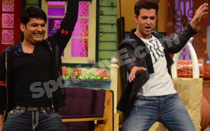 IN PICS: Kapil Sharma Takes Dancing Lessons From Hrithik Roshan